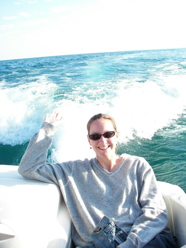 Laura_boating